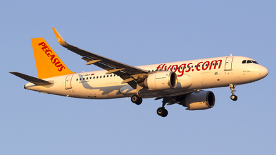 A picture of TCNBT - Airbus A320251N - Pegasus Airlines - © Bora Polater