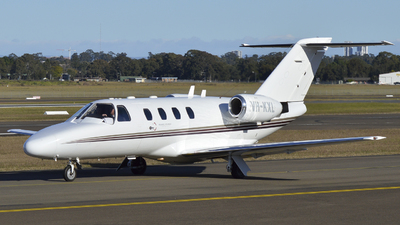 VH-KXL - Cessna 525 CitationJet 1 - Private