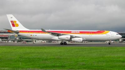 EC-IDF - Airbus A340-313X - Iberia