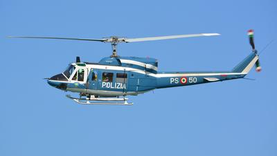 MM80750 - Agusta-Bell AB-212AM - Italy - Polizia di Stato