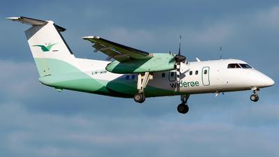A picture of LNWIN - De Havilland Canada Dash 8100 - Wideroe - © Laszlo Fekete