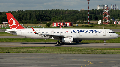 A picture of TCJSZ - Airbus A321231 - Turkish Airlines - © Luba Ostrovskaya