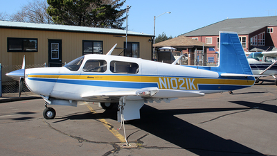 N1021K - Mooney M20J-201 - Private