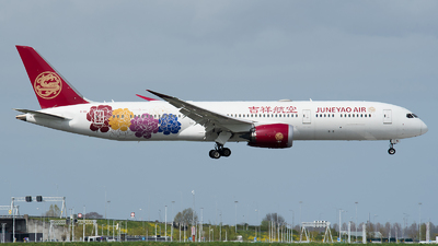 B-1115 - Boeing 787-9 Dreamliner - Juneyao Airlines