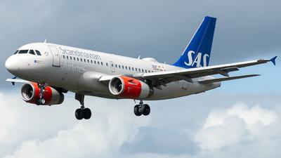 A picture of OYKBP - Airbus A319132 - SAS - © William Skoglund