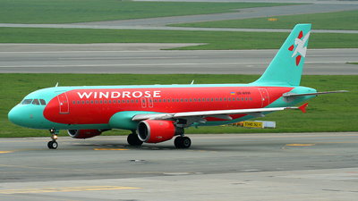 UR-WRM - Airbus A320-212 - Wind Rose Aviation