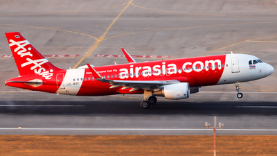A picture of HSBBC - Airbus A320216 - AirAsia - © Jack Sin