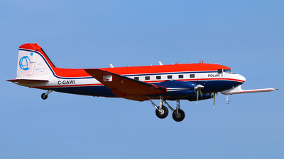 A picture of CGAWI - Douglas DC3C - Kenn Borek Air - © Andreas Fietz