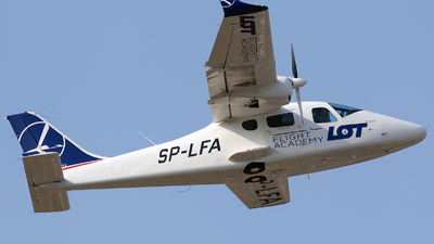 SP-LFA - Tecnam P2006T - LOT Flight Academy