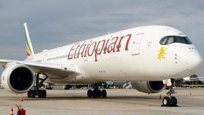 ET-AUC - Airbus A350-941 - Ethiopian Airlines