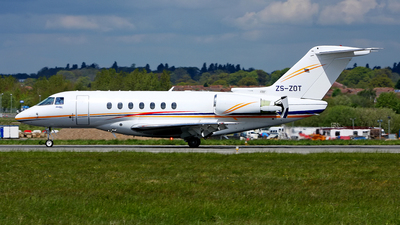 ZS-ZOT - Hawker Beechcraft 4000 - Private