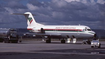 VH-FKI - Fokker F28-4000 Fellowship - Airlines of Western Australia