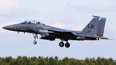91-0317 - McDonnell Douglas F-15E Strike Eagle - United States - US Air Force (USAF)