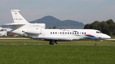D-AGBI - Dassault Falcon 7X - VW Air Services