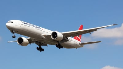 TC-JJE - Boeing 777-3F2ER - Turkish Airlines