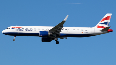 G-NEOW - Airbus A321-251NX - British Airways