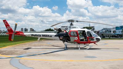 PP-SAU - Helibrás AS-350B2 Esquilo - Brazil - Military Police