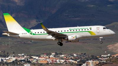 A picture of 5TCLO - Embraer E175LR - Mauritania Airlines International - © Gerrit Griem