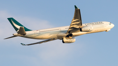 B-LAD - Airbus A330-343 - Cathay Pacific Airways