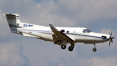 ZS-IPP - Pilatus PC-12/45 - Private