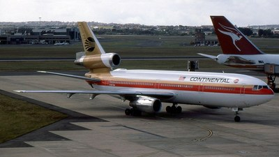 N3878M - McDonnell Douglas DC-10-30 - Continental Airlines