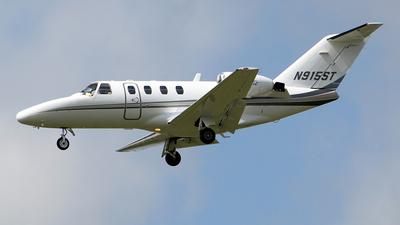 A picture of N915ST - Cessna 525 CitationJet CJ1 - [5250301] - © toyo_69pr
