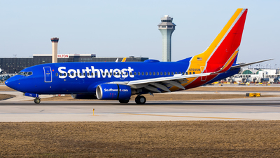 N709SW - Boeing 737-7H4 - Southwest Airlines