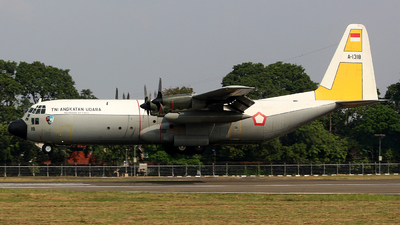 A-1318 - Lockheed C-130H-30 Hercules - Indonesia - Air Force