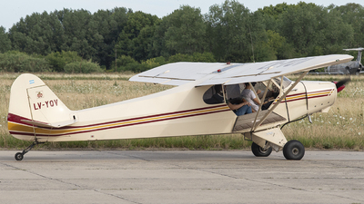 LV-YQV - Piper PA-11-90 Cub Special - Private
