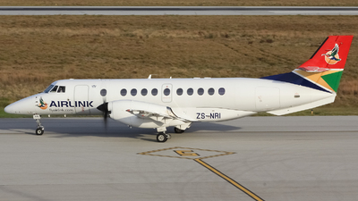 ZS-NRI - British Aerospace Jetstream 41 - Airlink