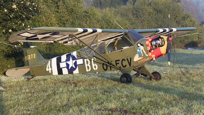 OY-ECV - Piper J-3C-65 Cub - Private