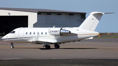 C-FXWT - Bombardier CL-600-2B16 Challenger 605 - Private