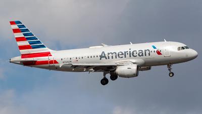N724UW - Airbus A319-112 - American Airlines