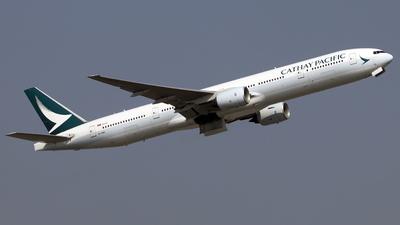 B-HNU - Boeing 777-31H - Cathay Pacific Airways