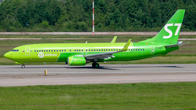 A picture of VPBDG - Boeing 7378Q8 - S7 Airlines - © Yan Syrbo