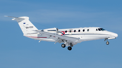9H-FFF - Cessna 650 Citation VII - Luxwing