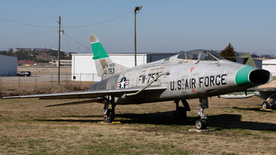 54-1753 - North American F-100C Super Sabre - United States - US Air Force (USAF)