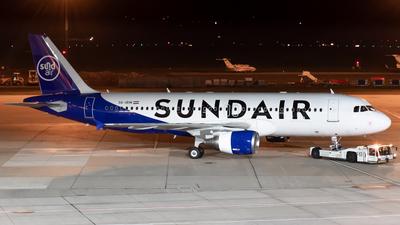 9A-IRM - Airbus A320-214 - SundAir (Fly Air41 Airways)