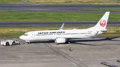 JA342J - Boeing 737-846 - Japan Airlines (JAL)