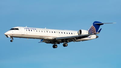 A picture of N788SK - Mitsubishi CRJ701ER - United Airlines - © Michael Rodeback