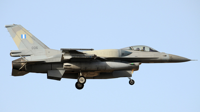 006 - Lockheed Martin F-16C Fighting Falcon - Greece - Air Force