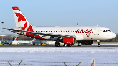 C-FYNS - Airbus A319-114 - Air Canada Rouge