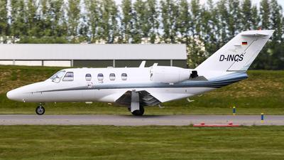 A picture of DINCS - Cessna 525 CitationJet CJ1 - [5250466] - © C. v. Grinsven