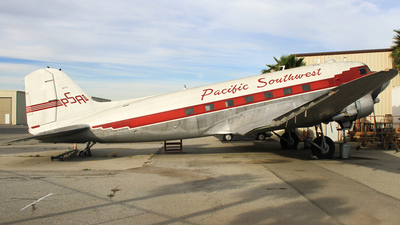 N47TF - Douglas DC-3C - Pacific Southwest Airlines (PSA)