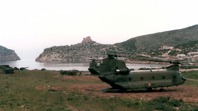 HT.17-12 - Boeing CH-47D Chinook - Spain - Army