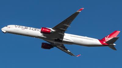 A picture of GVLUX - Airbus A3501041 - Virgin Atlantic - © RJL