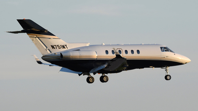 N751MT - Raytheon Hawker 800XP - Private