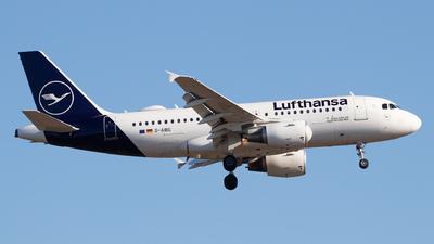 D-AIBG - Airbus A319-112 - Lufthansa
