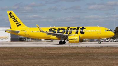 A picture of N904NK - Airbus A320271N - Spirit Airlines - © Mark Lawrence