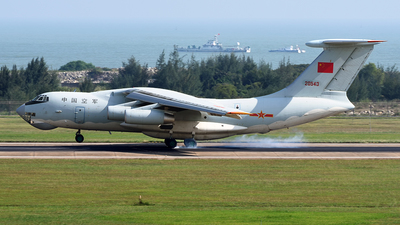 20543 - Ilyushin IL-76MD - China - Air Force